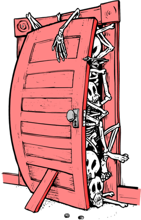 """Jurny """"trup"""" faszysty w całkiem już spróchniałej szafie"""
