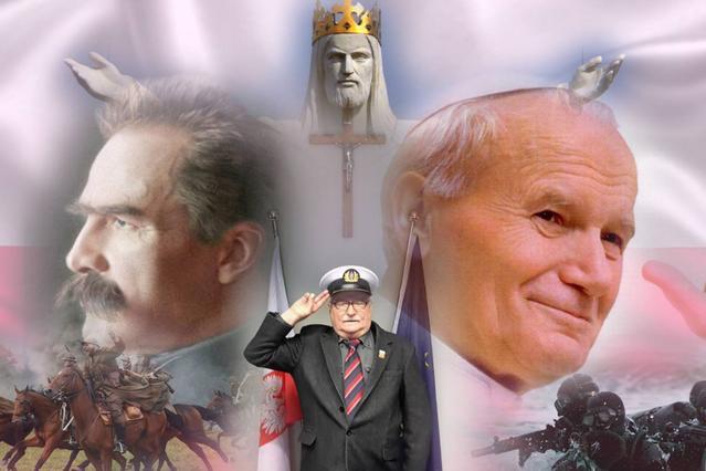 Wygłupy Lecha Wałęsy