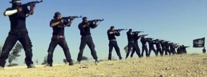 "An image grab taken from a propaganda video uploaded on September 7, 2013 by Syria's Islamist Ahrar al-Sham group shows its members taking part in a training session at an undisclosed location in Syria. Syria's Islamist Ahrar al-Sham rebel brigade named new chiefs on September 10, 2014 after a devastating blast that killed nearly 30 members of its leadership in northeastern Idlib province. Ahrar al-Sham is a key component in the Islamic Front rebel coalition, which has been battling both President Bashar al-Assad's regime, and jihadists from the Islamic State group. AFP PHOTO / HO / AHRAR AL-SHAM === RESTRICTED TO EDITORIAL USE - MANDATORY CREDIT ""AFP PHOTO / HO / AHRAR AL-SHAM "" - NO MARKETING NO ADVERTISING CAMPAIGNS - DISTRIBUTED AS A SERVICE TO CLIENTS FROM ALTERNATIVE SOURCES, AFP IS NOT RESPONSIBLE FOR ANY DIGITAL ALTERATIONS TO THE PICTURE'S ==="