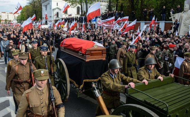 """Pogrzeb mjr. Zygmunta Szendzielarza """"Łupaszki"""""""