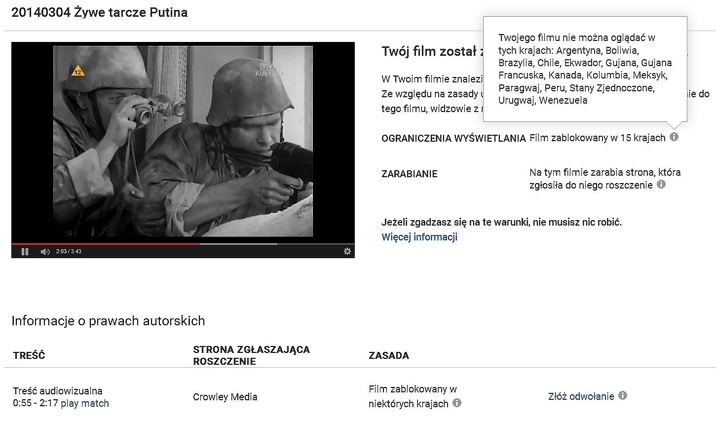 WOLNY CZYN: Putinowcy blokują nasz film o rosyjskich zbrodniach wojennych na Ukrainie