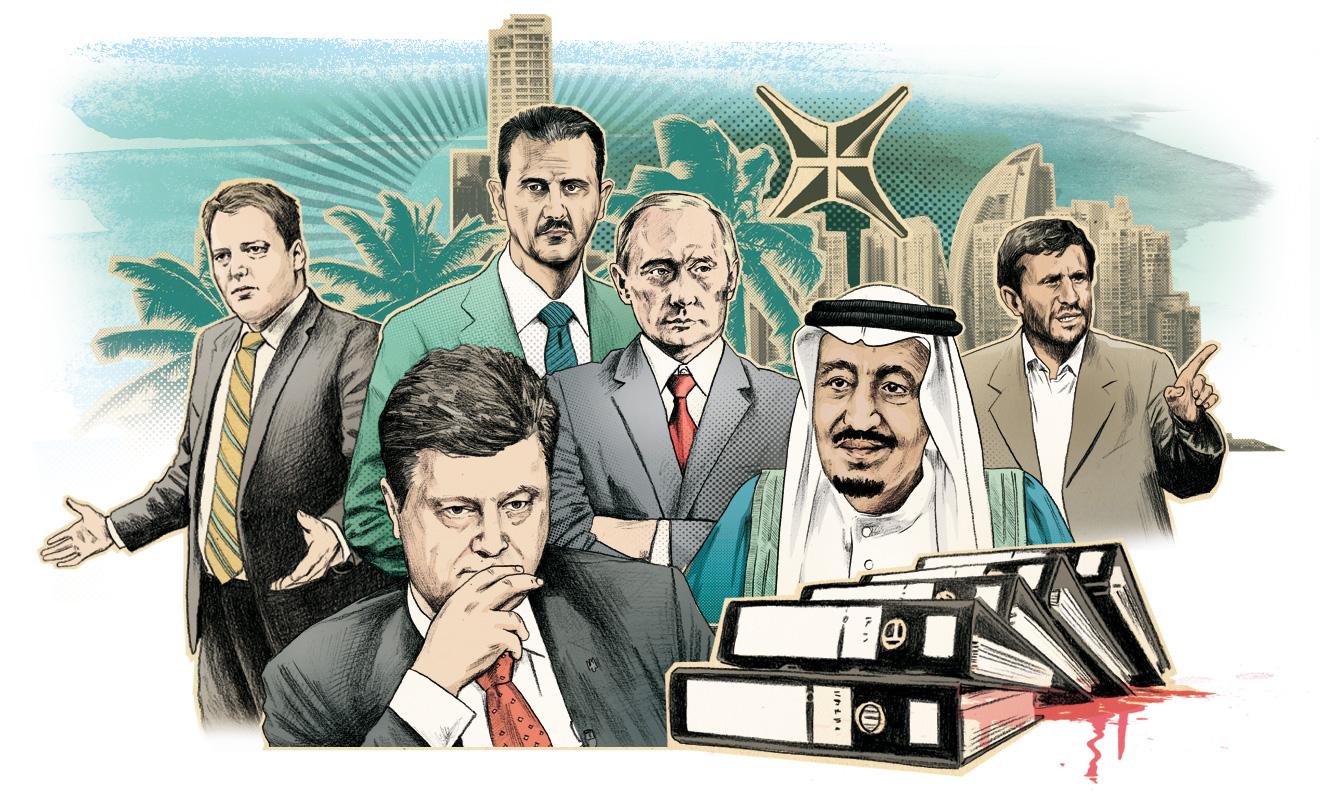 Panama Papers,  czyli Piskorski, politycy w  Polsce, EU, Ukrainie, Rosji, USA,  UK w Izraelu, BRD są podejrzanymi przez zagraniczne  organy  ścigania
