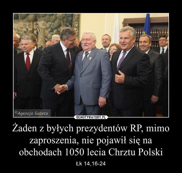 nieobecnosc neo kolonizatrow.Prezydentów Polski