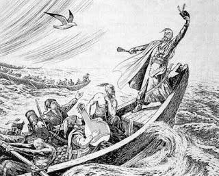 Wybrali się czajkami za morze