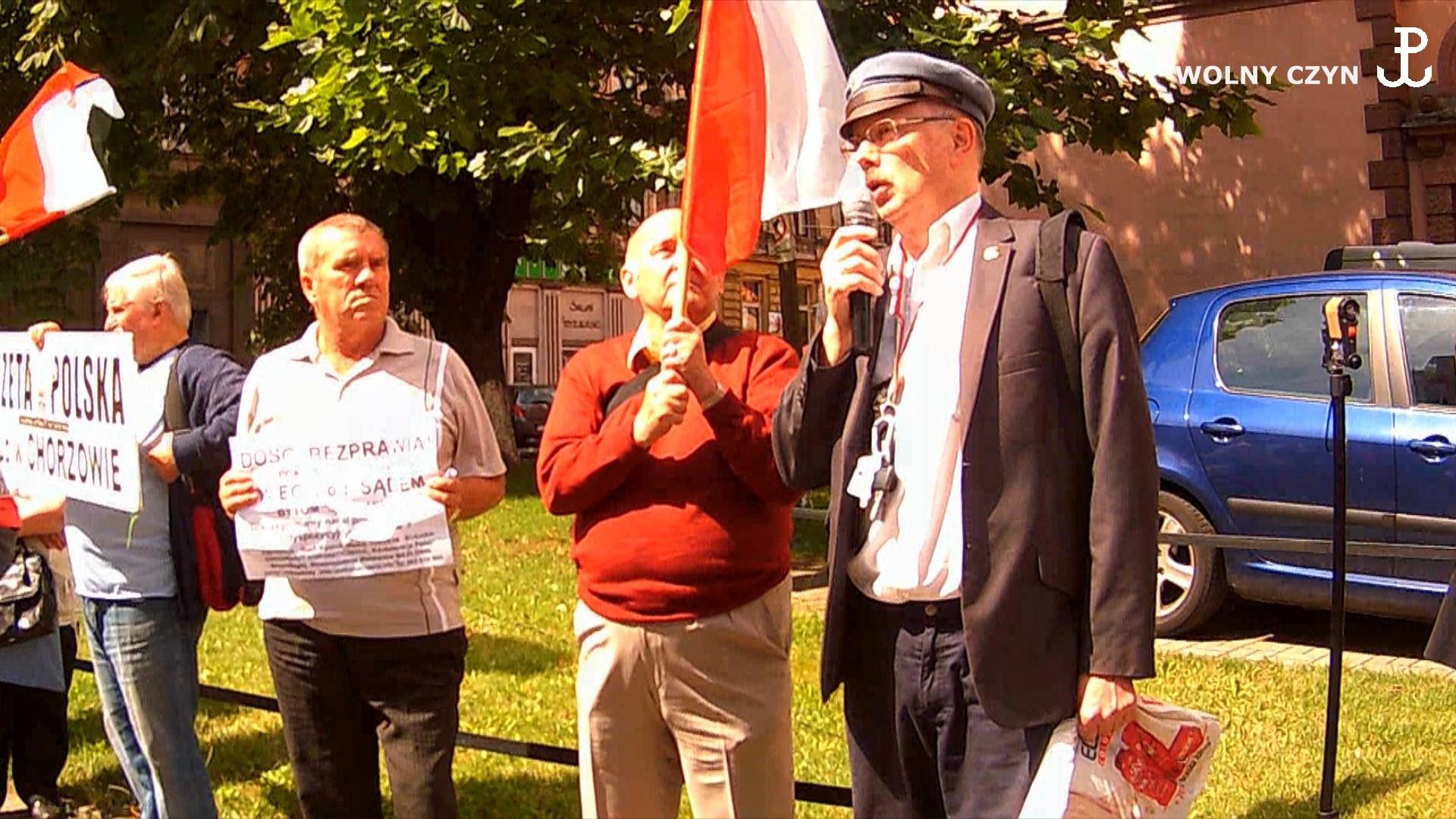 WOLNY CZYN: 6 lipca Bytom: proces przeciw patriotom umorzony!