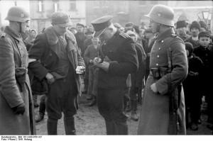 Polen, Razzia von deutscher Ordnungspolizei