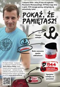 Plakat PW