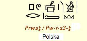 Nazwy Polska i Polacy zapisane na reliefach Ramzesa III