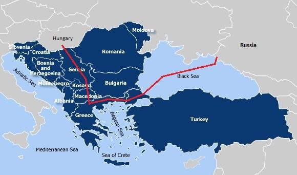 odnoga Jedwabnego Szlaku biegnąca z północy Europy przez Turcję do Suezu a dalej na Ocean Indyjski