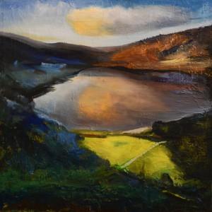 23a.Wicklow Mountains ,Ireland ,,acrylique et huile sur toile, en plein air,,Mariusz Kiryła 2016r. (2 z 12)
