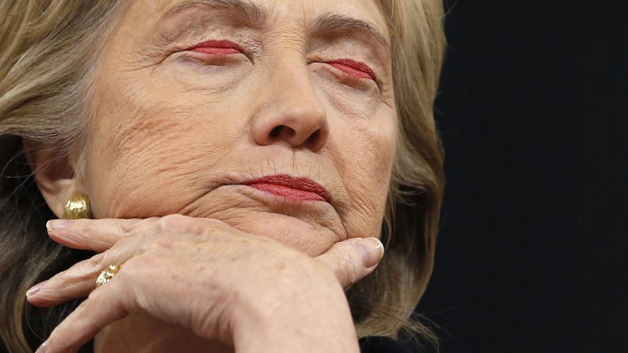 Hillary Clinton miała wypadek
