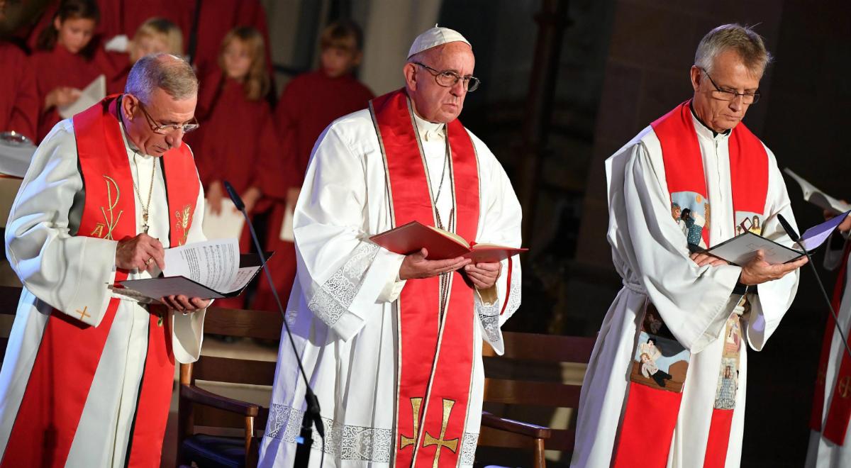 """Czego papież Bergoglio nauczył się od """"Kościoła Szwecji""""?"""
