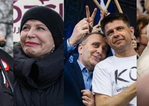 07.05.2016   Manifestacja KOD i opozycji w Warszawie    fot. Andrzej Skwarczynski