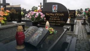Iwona Cygan grób
