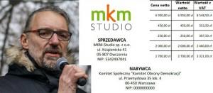 11.11.2016 Marsz KOD, plac Narutowicza, Warszawa, Mateusz Kijowski fot. Andrzej Skwarczynski