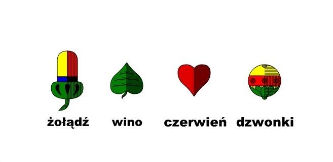 kolory kart polskich