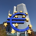 European Central Bank in Frankfurt Main, Germany