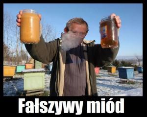 fałszywy miód