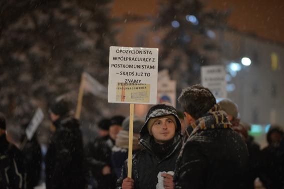"""Świdnik – """"reaktywacja"""". Opozycja w śnieżycy"""