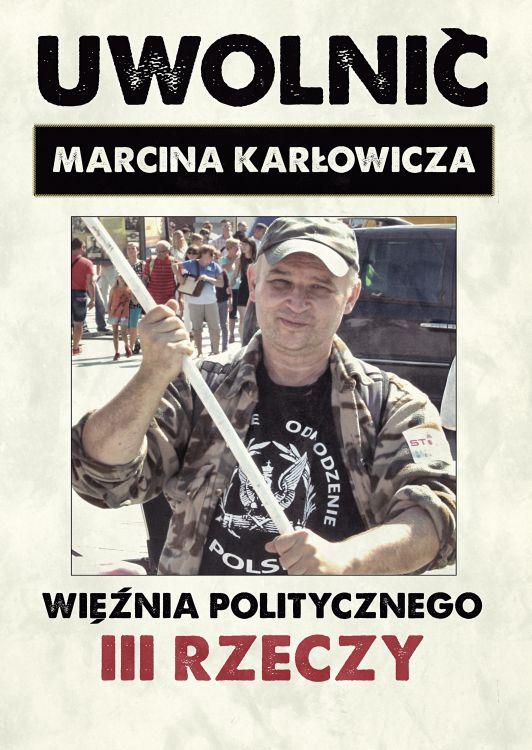 W Prokuraturze Krajowej – o uwolnienie Marcina Karłowicza