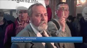 Oświadczenie Zygmunta Miernika