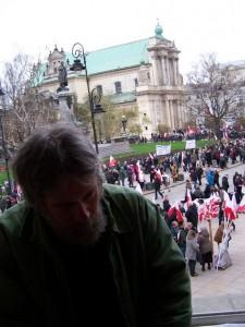 10.IV.2016, Warszawa, kolejna rocznica katastrofy smoleńskiej
