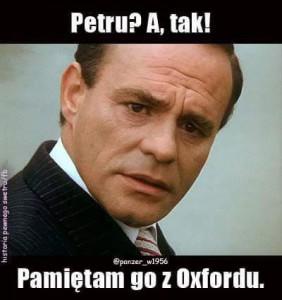Dyzma pyta o Petru