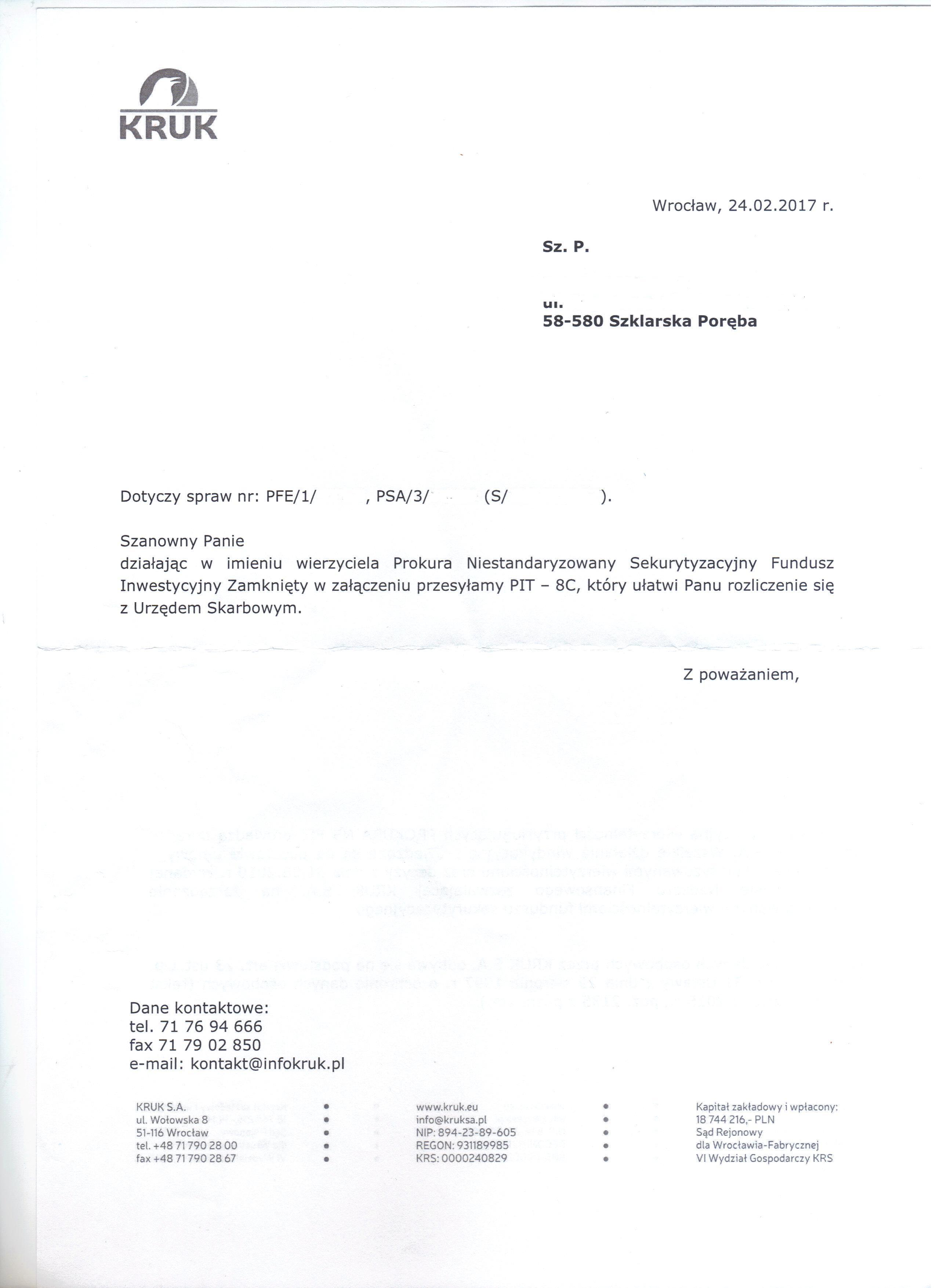 pismo przewodnie