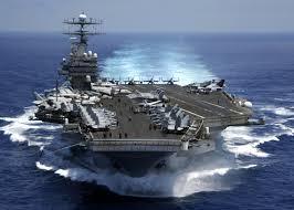 Okręty wojskowe USA płyną w stronę Korei Północnej