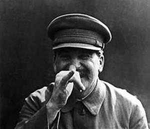 Stalin gra na nosie