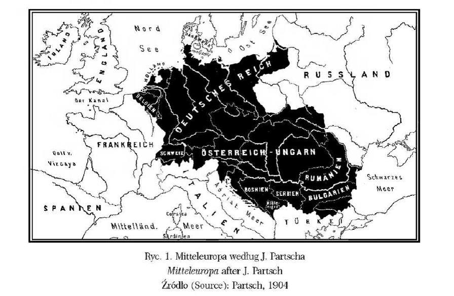 Mitteleuropa_Partsch