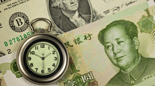Chiny grabarzem dolara
