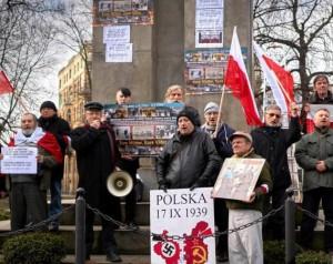 manifestacja antyRAŚ Katowice