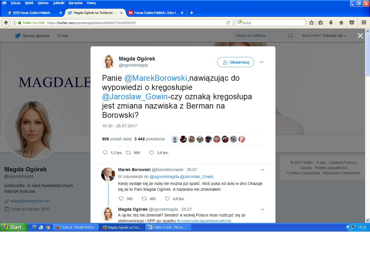 Magda O. twitt