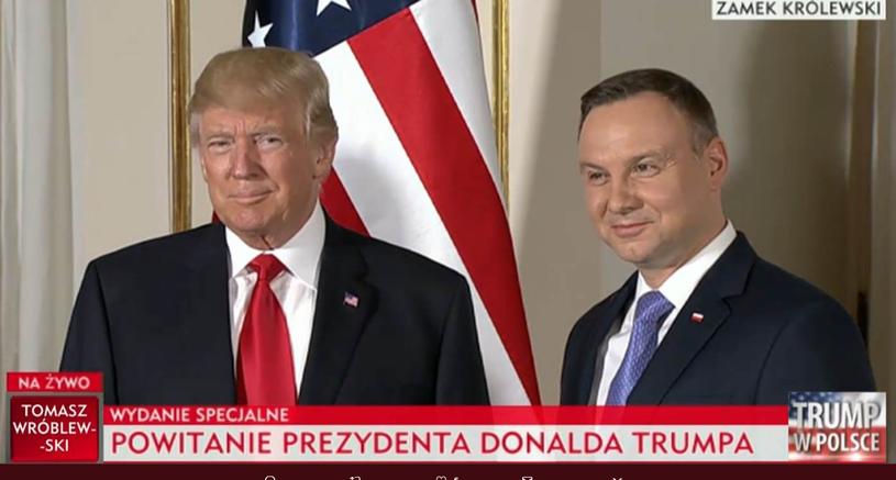 Prezydent Trump i krawaty