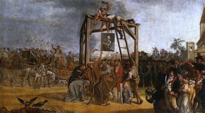Judasz przynajmniej miał honor i powiesił się sam.