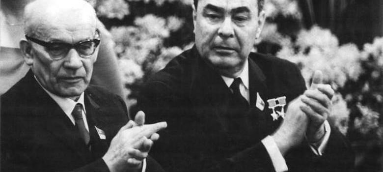 Gomułka i Breżniew