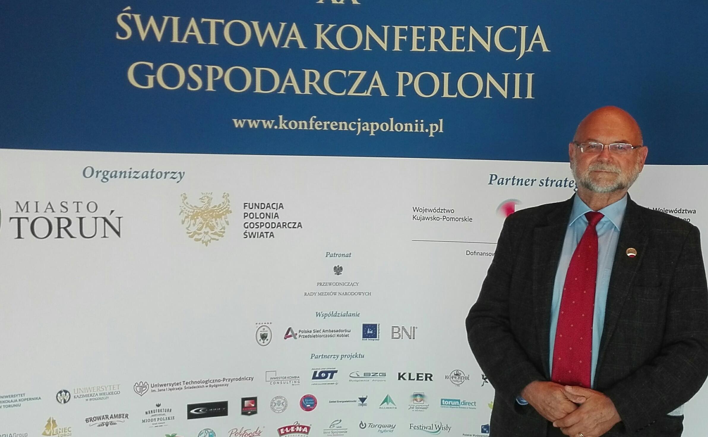 XX Światowa Konferencja Gospodarcza Polonii w Toruniu