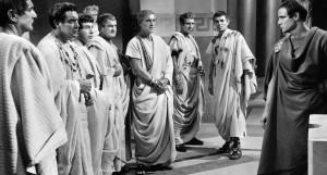 Juliusz Cezar kadr z filmu 1953
