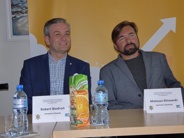 Klinowski i Biedroń za salon24