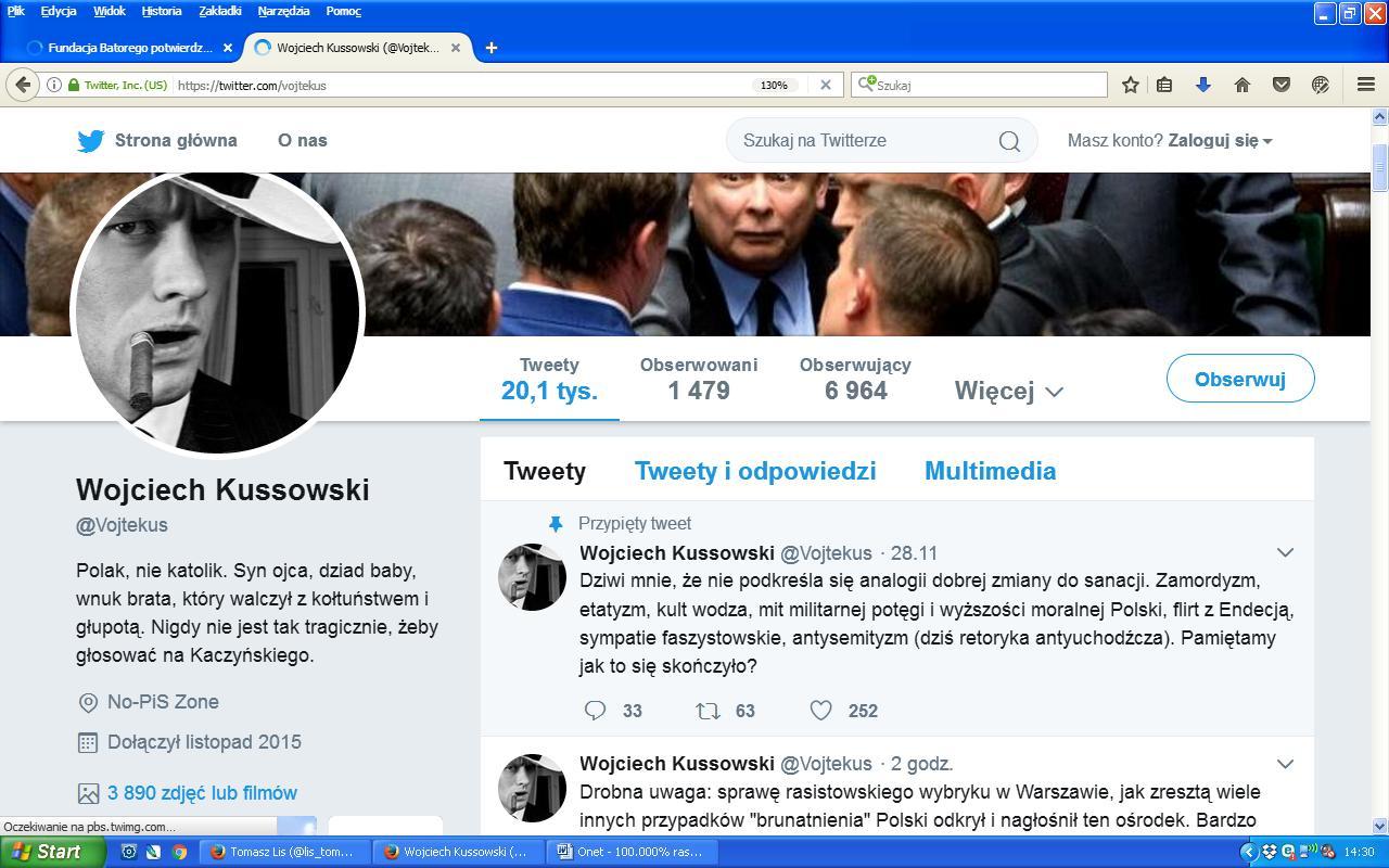 Kussowski twitter