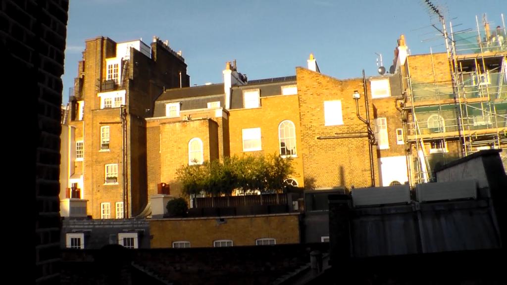 Londyn z tyłu