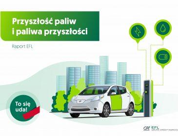 Czym Polacy będą tankować za 30 lat? Nowy raport EFL