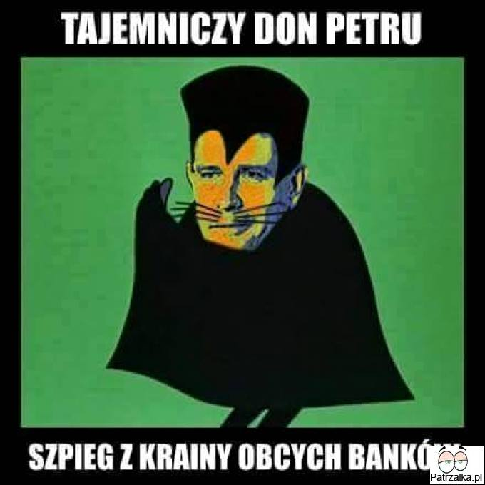 Petru z krainy obcych banków
