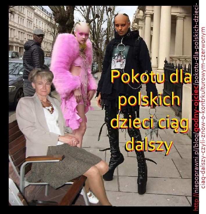 Pokotu dla polskich dzieci ciąg dalszy – czyli znów o kontrkulturowym Czerwonym Kapturku