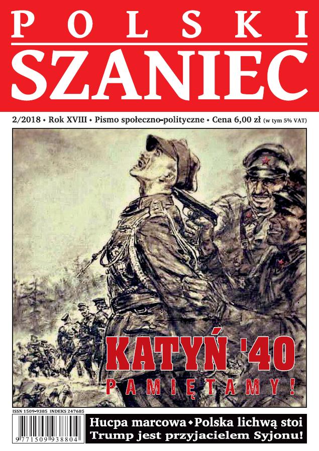 """""""Polski Szaniec"""" numer 2/2018 już w sprzedaży!"""