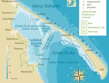 Rybitwia Mielizna jako pierwsza linia obrony przed podnoszącym się poziomem morza – materiały programowe