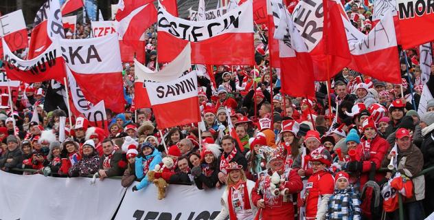 Tysiące faszystów demonstruje w Wiśle