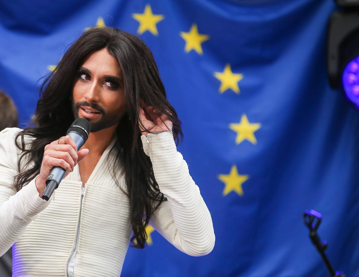 Unia Europejska staje się jak Conchita Wurst.