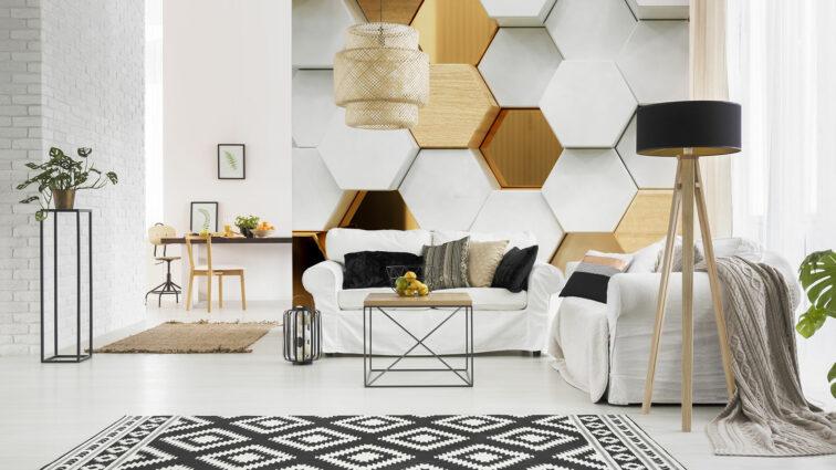 Dekoracje przestrzenne na ścianę – pomysł na odważną aranżację